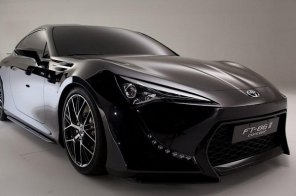 Подробности о новом суперкаре Toyota FT-86