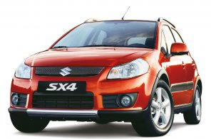 Компания Suzuki представила обновленный кроссовер Suzuki SX4
