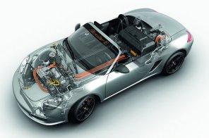 Электромобили Porsche на базе Boxster