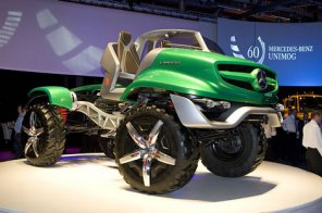 Mercedes-Benz представил кабриолет-вездеход