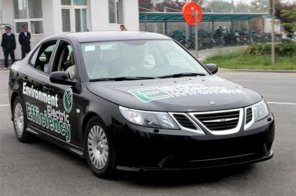 Китайцы научили Saab 9-3 ездить без бензина