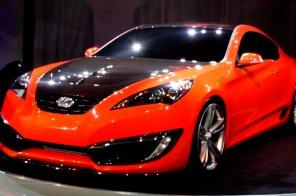 Купе Genesis станет первой новинкой Hyundai в 2012 году