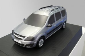 Выпущен новый универсал АВТОВАЗа Lada R90 на базе Renault Logan