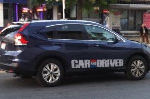 Новый Honda CR-V ждет за поворотом