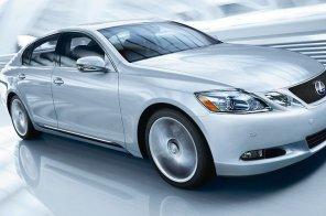 Lexus GS готовят к осени
